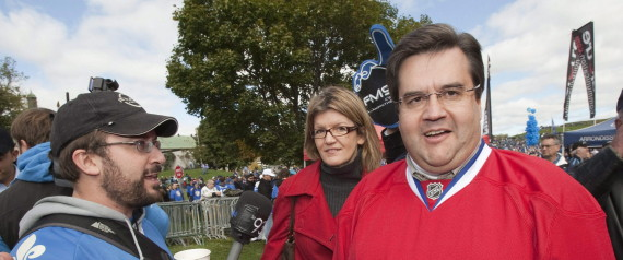 Denis Coderre David Desharnais