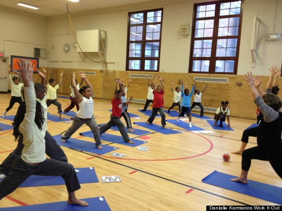 Danialle Karmanos' Work It Out Teaches Inner-City Kids Yoga