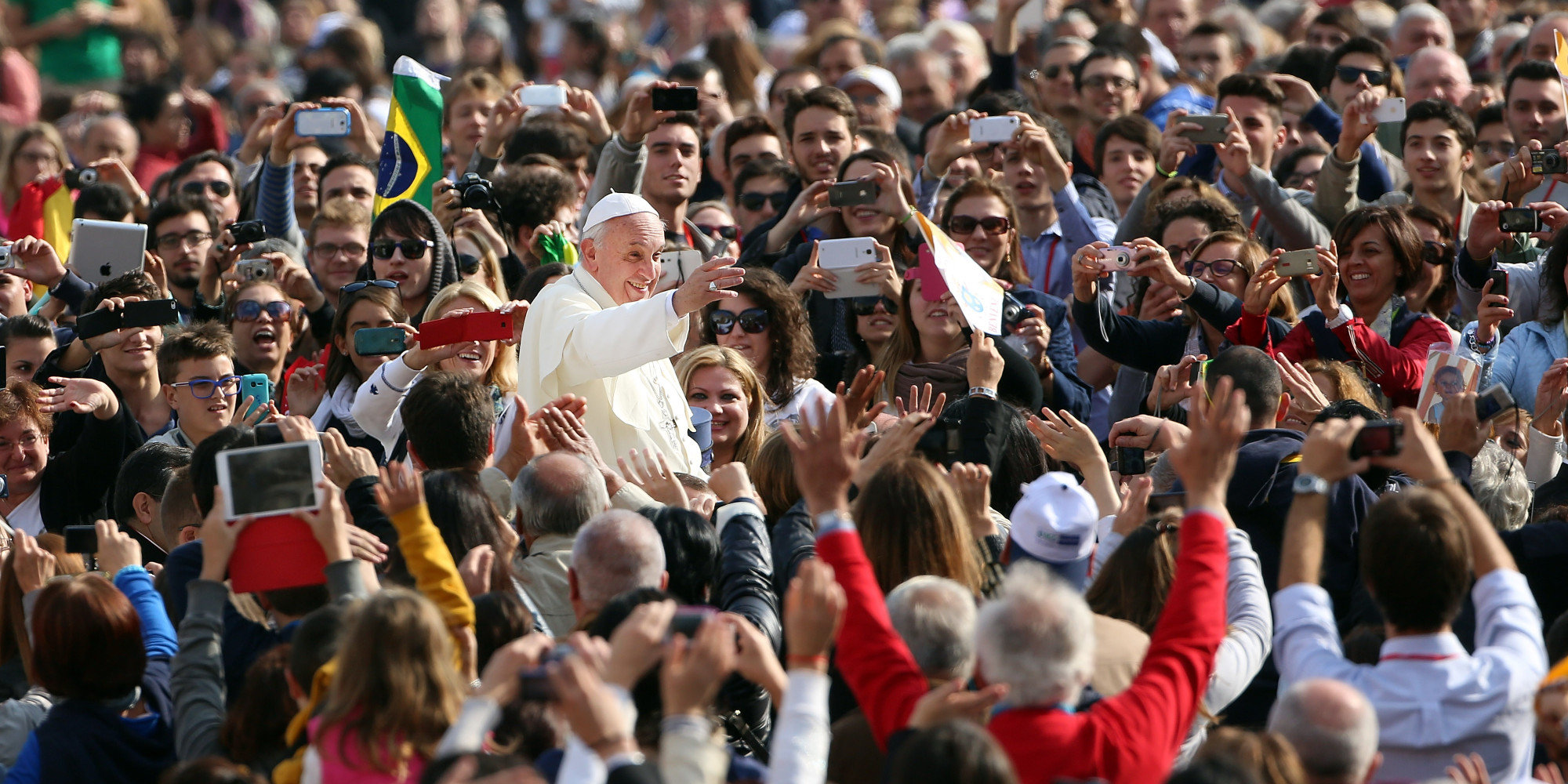 Pope francis effect in rising church attendance in italy the