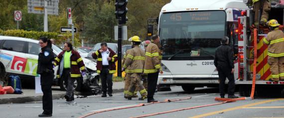 collision autobus Montréal