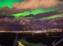 Northern Lights rockies