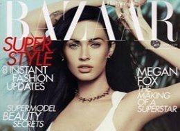 Megan Fox Bazaar