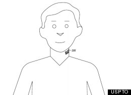 Google Patents Neck Tattoo With Built-In Microphone