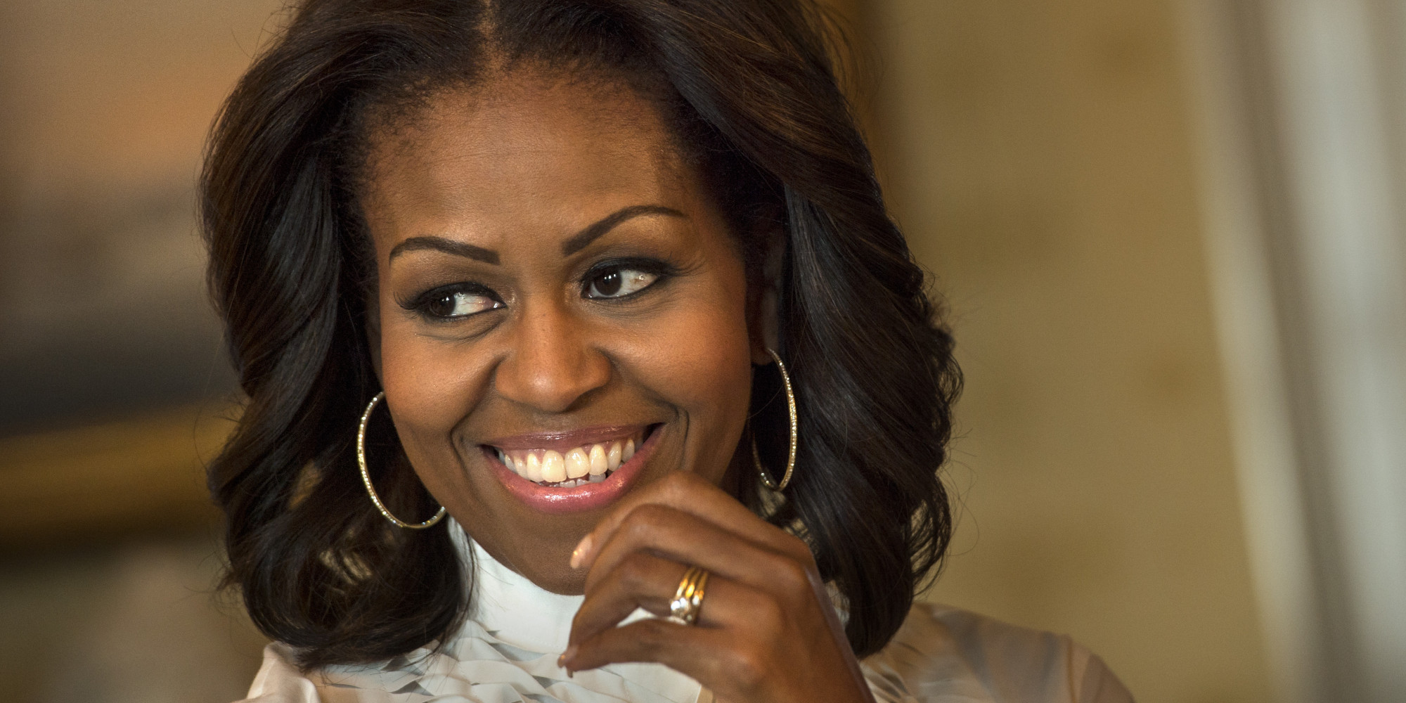 how to draw michelle obama