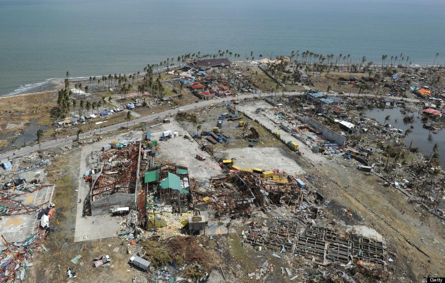 tacloban aerial
