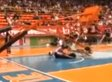 Harlem Globetrotters' Backboard-Shattering Dunk Turns To Scary Accident (VIDEO)