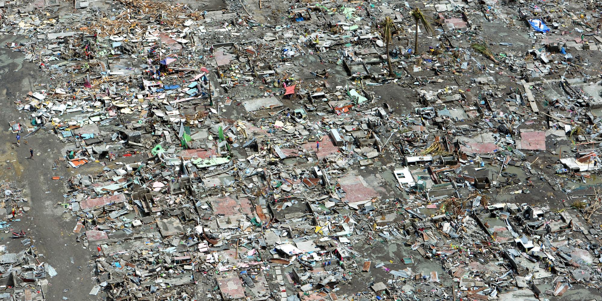 Typhoon Haiyan Aerial Photos_n_4260061 on After Typhoon Haiyan Devastated Central Philippines On November 8