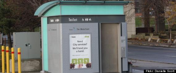 pay toilet