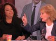 Barbara Walters Almost Smacks Sherri Shepherd On 'The View' (VIDEO)