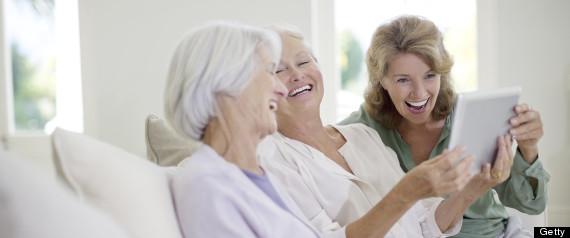 older people friends