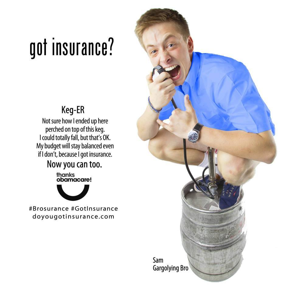 New Obamacare Ads Use Party Girls, Bloody Kids And Keg-Stands (Again) To Sell Insurance | HuffPost