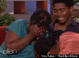 WATCH: Ellen's UNBELIEVABLE Surprise For Two Life-Long Fans In Need