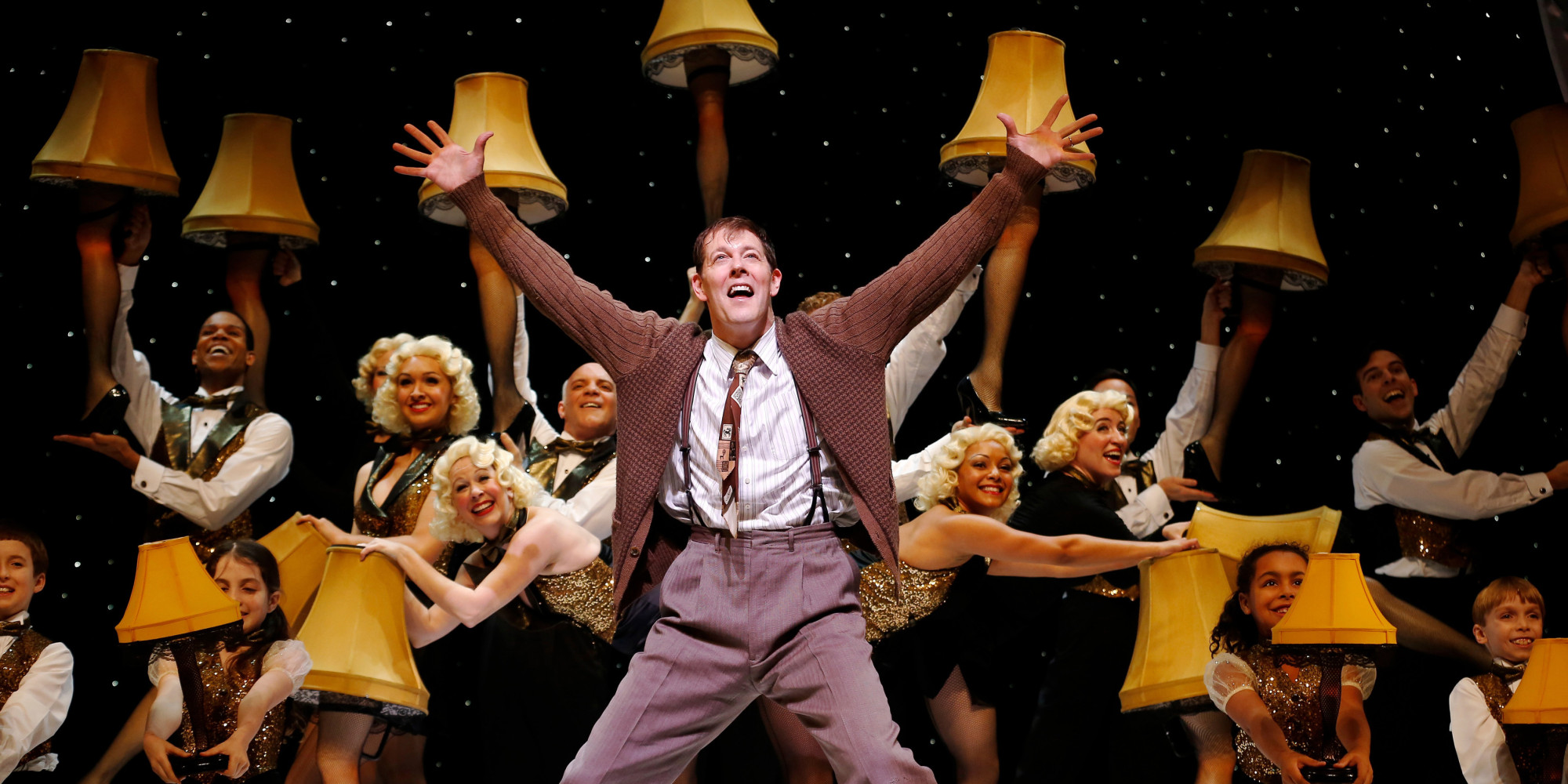 musical christmas story holiday hit york hartford engagements boston huffpost