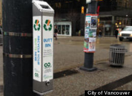 Vancouver Launches Cigarette Butt Recycling