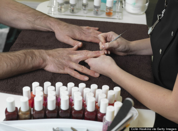 manicure for men
