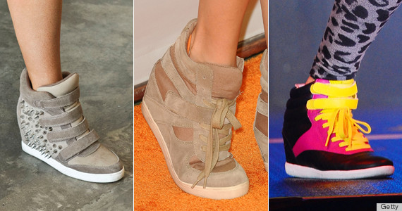 wedge sneaker trend 2014 16 trends we re ready to say