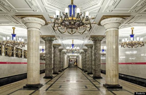 20 Coolest Subway Stations Around The World Huffpost