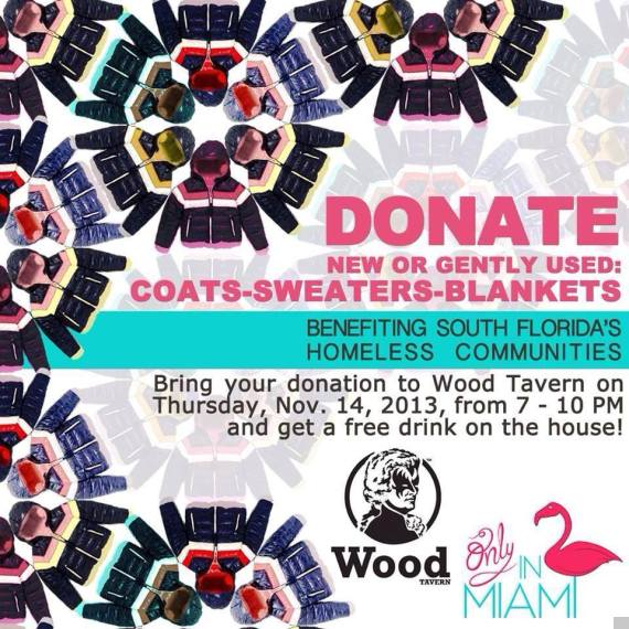 donate at wood tavern