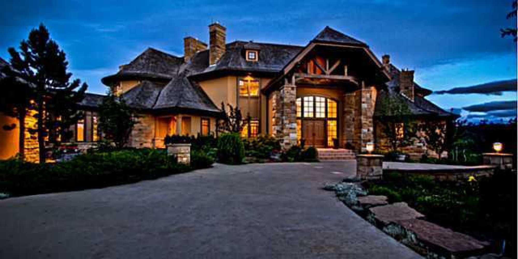 Alberta 39 s most expensive homes for sale the top 3 photos for Big ranch house plans