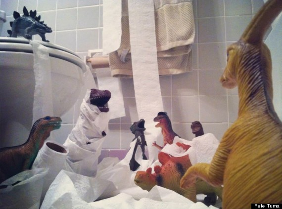 Dinovember: The Month When Plastic Dinosaurs Come To Life ...