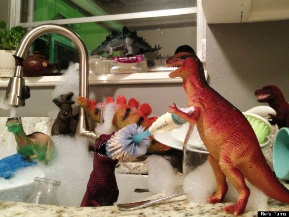 Dinovember The Month When Plastic Dinosaurs Come To Life