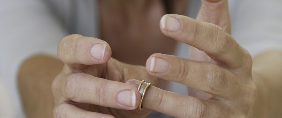 TAKING OFF WEDDING RING