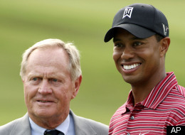Jack Nicklaus Tiger Woods Masters