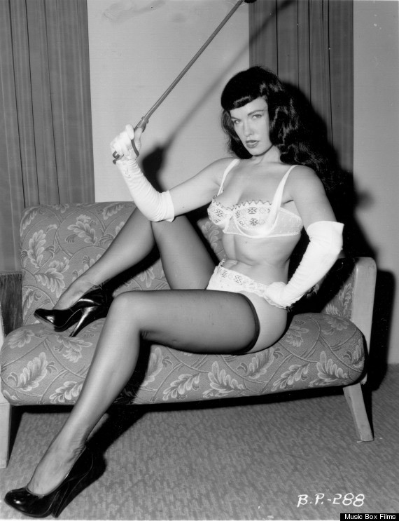 bettie page pin up queen