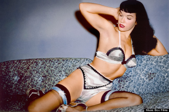 Bettie Page in Mark Mori's BETTIE PAGE REVEALS ALL (Music Box Films).