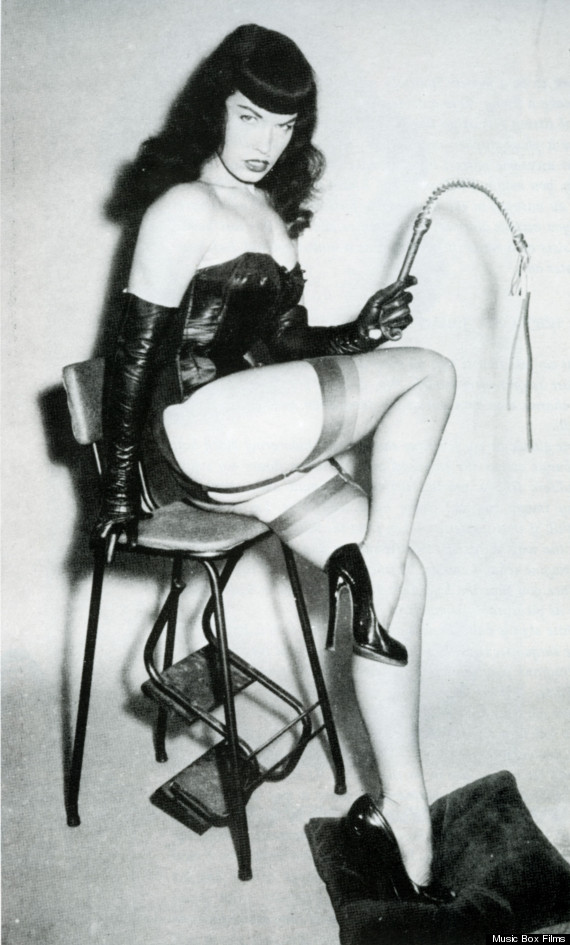 page being fondled Bettie