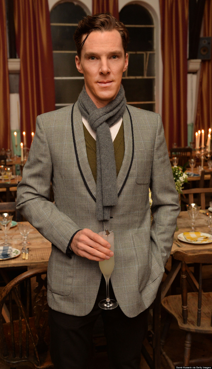 Benedict Cumberbatch Channels Sherlock In Dandy Outfit At