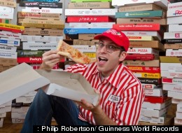Largest Pizza Box Collection Breaks World Record