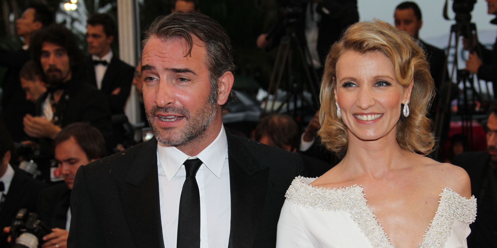 Jean dujardin and wife split after four years of marriage for Jean dujardin parents