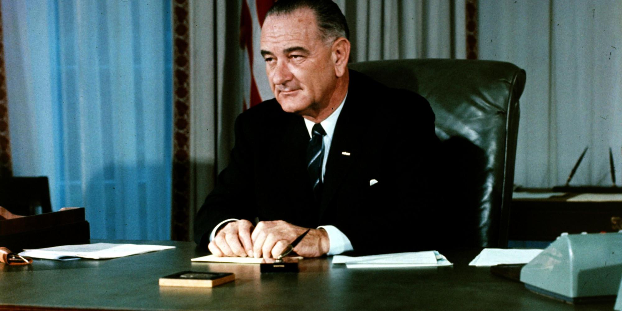 Lyndon Johnson Long Hair Newhairstylesformen