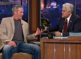 Favre Leno Tonight Show Retirement