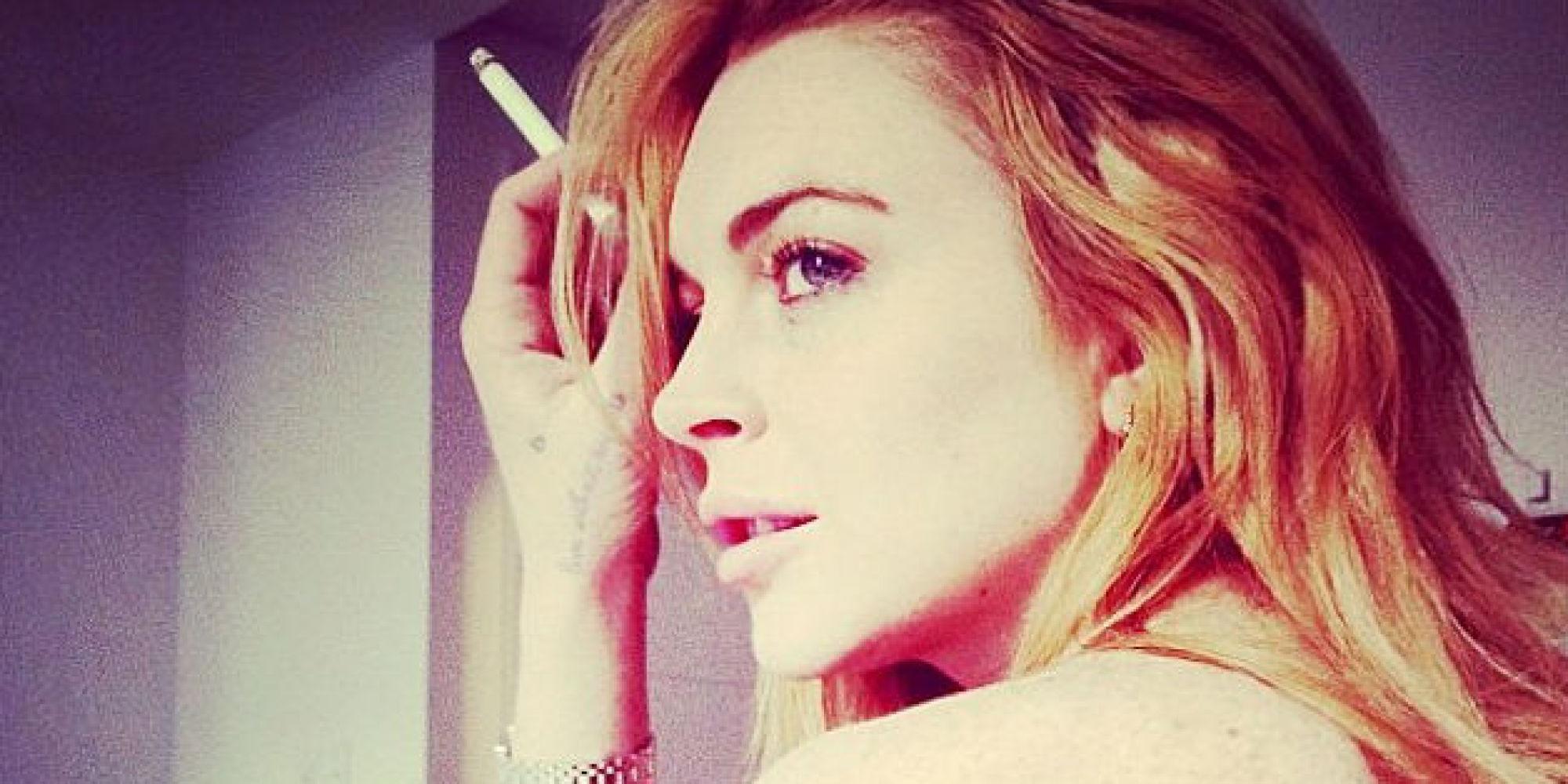Lindsay Lohan Naked Selfies