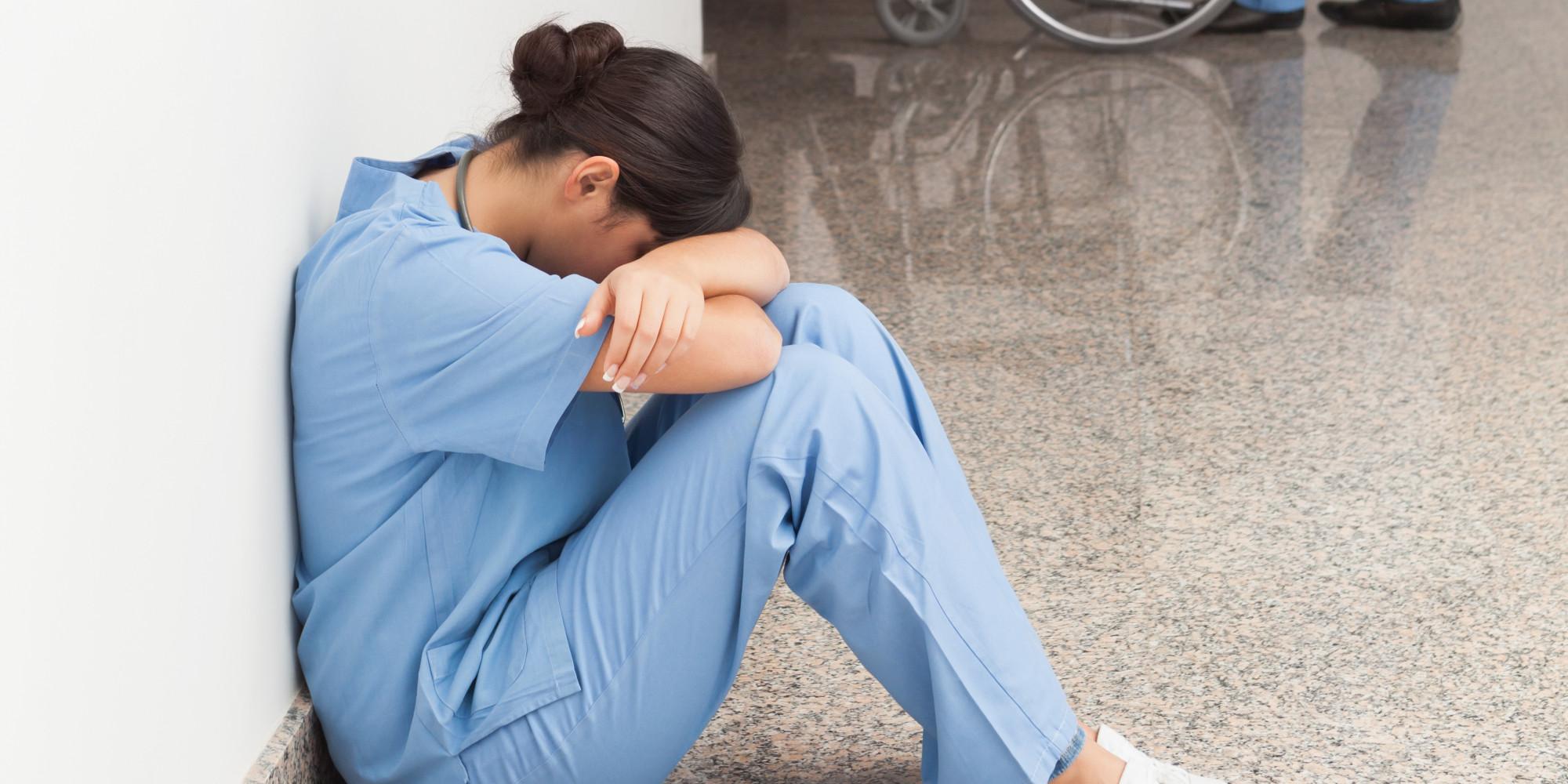 Depression sad mood sorrow dark people love doctor nurse wallpaper ...