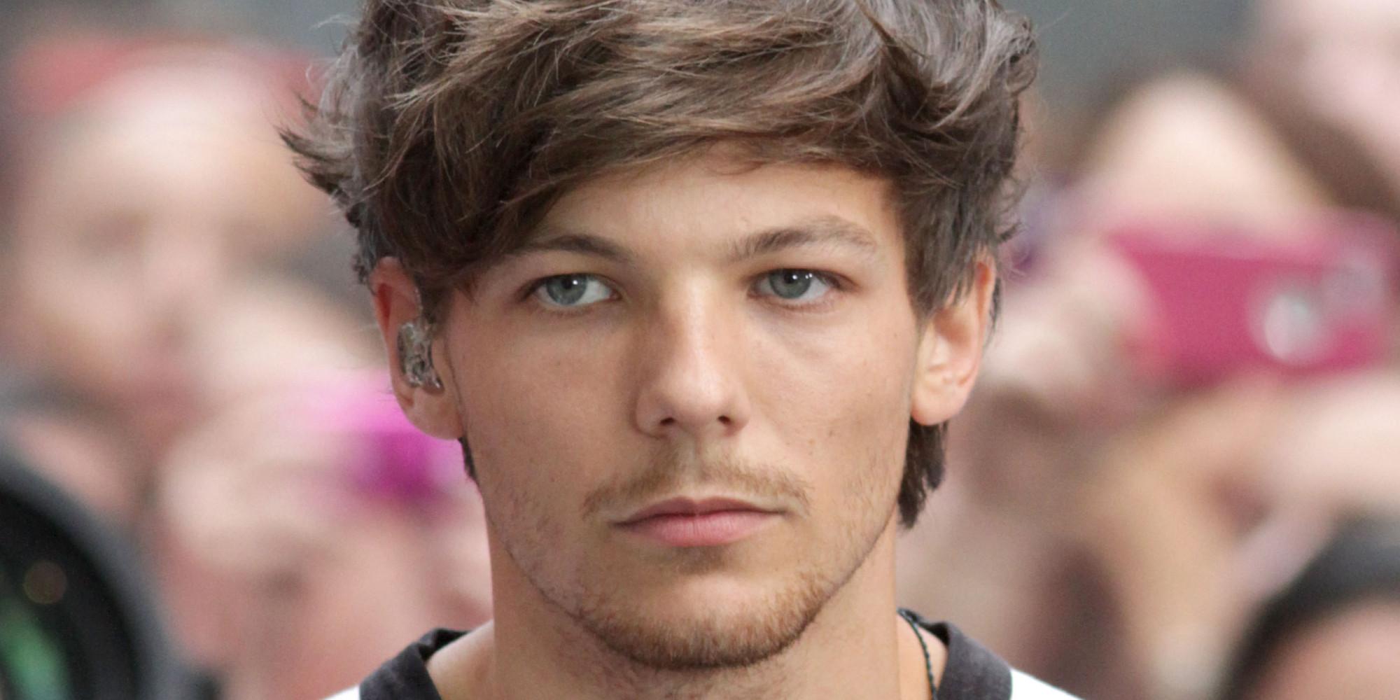 2014 Louis Tomlinson Face