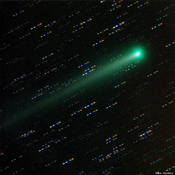 comet ison visible
