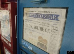 'Big Decisions' Coming At Torstar As News Publisher Bleeds Money