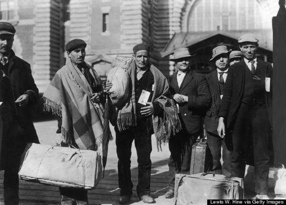 italian immigrant ellis island