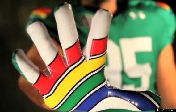 rainbow glove