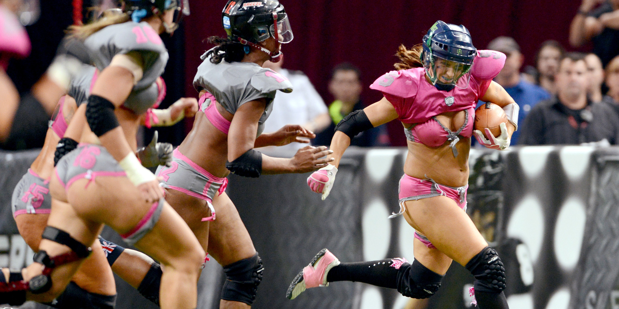 Lingerie football players speak out about injuries lack of