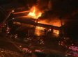 Massive Four-Alarm Fire That Destroyed Chicago Strip Mall Caused By Roofers: Officials (VIDEO)