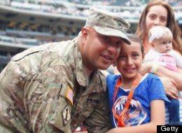 Obama: familiares indocumentados de soldados se podrán quedar