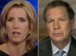 John Kasich Dismisses Laura Ingraham's Obama 'Spooning' Jab