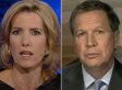 John Kasich Dismisses Laura Ingraham's Obama 'Spooning' Jab
