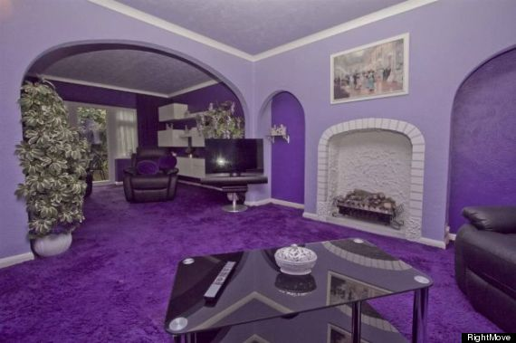 purple house