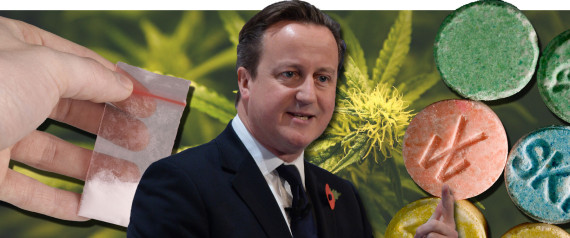 david cameron drugs