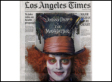 Los Angeles Times Front Page Taken Over By Disney Ad